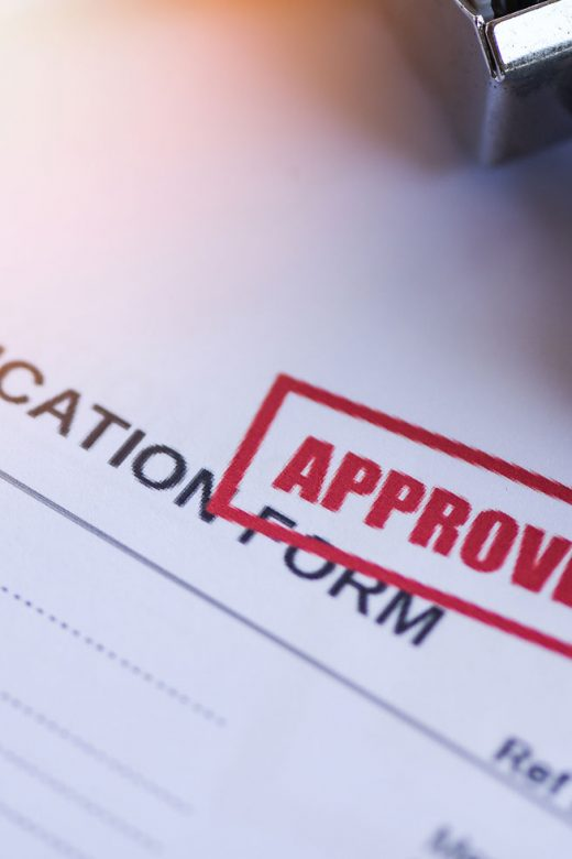 Pre-approved business loan